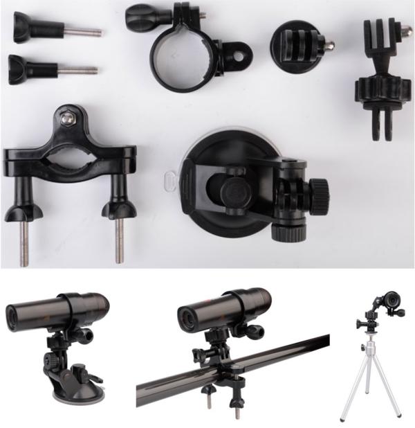 WaterWolf UW1.0 Tilbehørs Pakke, Passer også til action kamera!