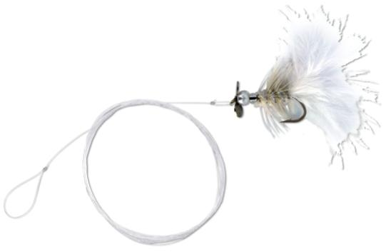 4 x Quantum Magic Trout Streamer Rig (6 Valgmuligheder) - White