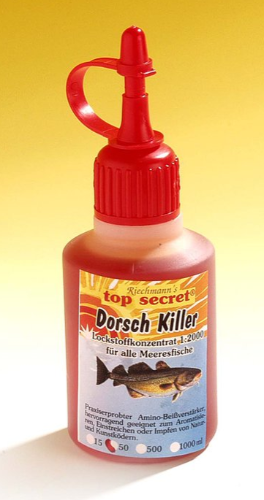 Top Secret Killer Aroma 50ml. (13 Valgmuligheder) - Top Secret Killer Aroma 50ml - Cod Killer