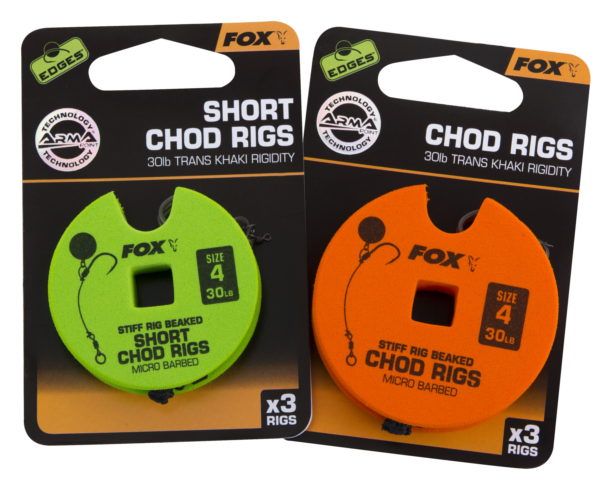 Fox Edges Ready Tied Chod Rigs