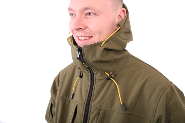 Tactic Carp Softshell Parka Jacket