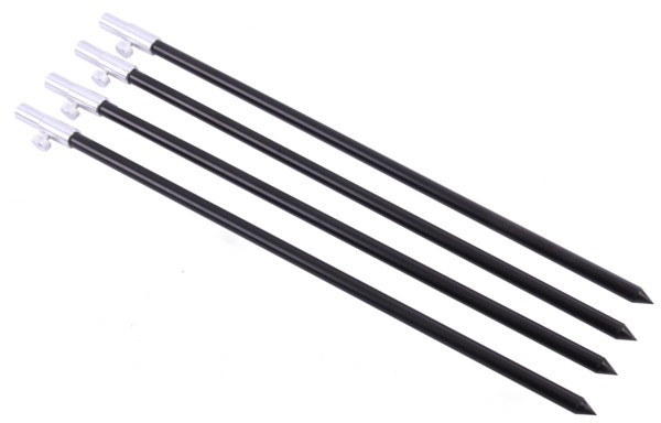 Set of 4 Adjustable Aluminium Banksticks