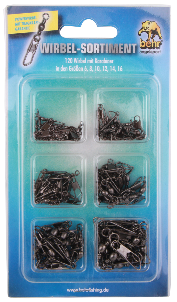 Behr Snap Swivels - Assortment 1