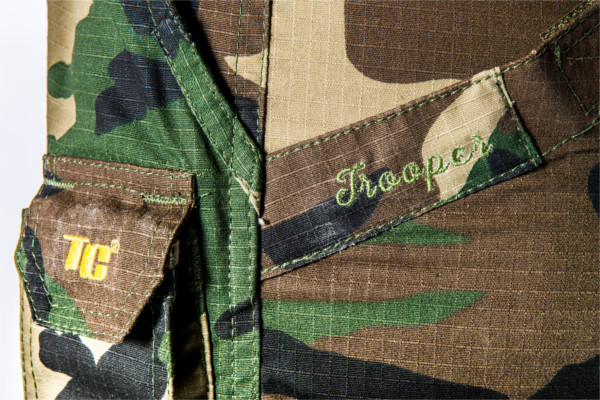 Tactic Carp Trooper Combat Trousers in Green or Camo