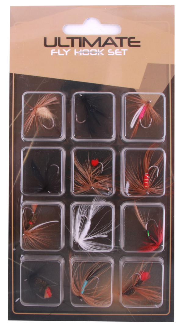 Ultimate Fly Set, 12 flies!