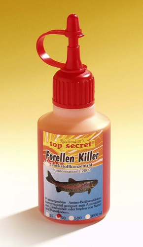 Top Secret Killer Aroma 50ml. (13 Valgmuligheder) - Top Secret Killer Aroma 50ml - Trout Killer