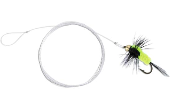 4 x Quantum Magic Trout Streamer Rig (6 Valgmuligheder) - Yellow/Black