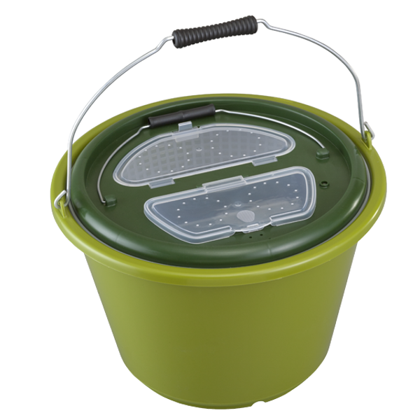 Panaro Live Bait Bucket 18 L - keep your live bait in top condition!